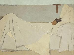Au Lit (In Be), 1891 by Édouard Vuillard