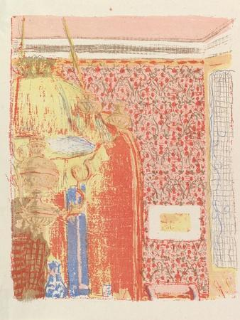 Interior with Pink Wallpaper II, from the series Landscapes and Interiors, 1899
