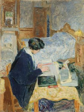 Lucy Hessel Reading (Lucy Hessel Lisan), 1913 by Édouard Vuillard