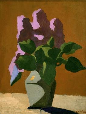 The Lilacs by Edouard Vuillard