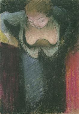 The Singer, 1891-1892 by Édouard Vuillard