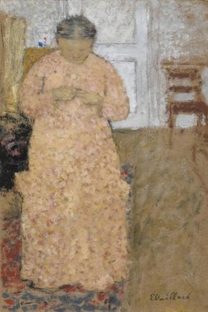 Woman in Pink Dress, Um 1900-1904