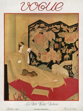 Vogue Cover - November 1923