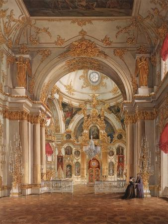 Interiors of the Winter Palace, the Cathedral in the Winter Palace, 1860S