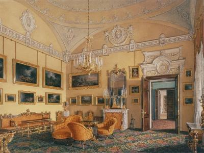 Interiors of the Winter Palace, the First Reserved Apartment