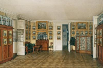 Interiors of the Winter Palace, the Valet Room of Emperor Alexander II, 1874
