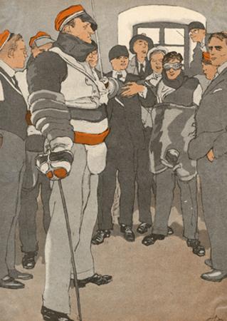 German Student Duel 1933
