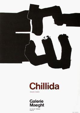 Expo Galerie Maeght 70 by Eduardo Chillida