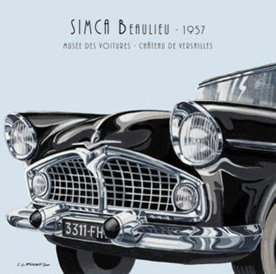 Simca Beaulieu 1957 by Eduardo Escarpizo