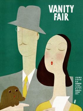 Vanity Fair Cover - June 1930 by Eduardo Garcia Benito