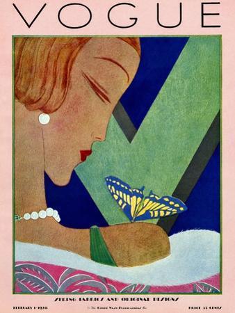 Vogue Cover - February 1928
