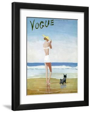 Vogue Cover - July 1937 by Eduardo Garcia Benito