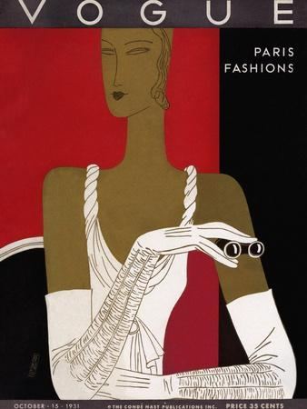 Vogue Cover - October 1931