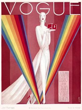 Vogue Cover - September 1926 by Eduardo Garcia Benito