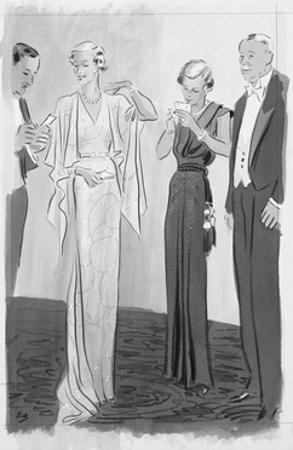 Vogue - September 1935 by Eduardo Garcia Benito