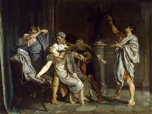The Death of Lucretia, 1871 by Eduardo Rosales