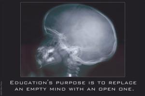 Education for an Empty Mind