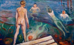 Bathing Boys, 1895 by Edvard Munch