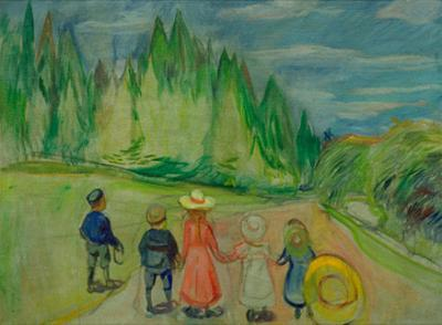 Enchanted Forest, 1907 by Edvard Munch
