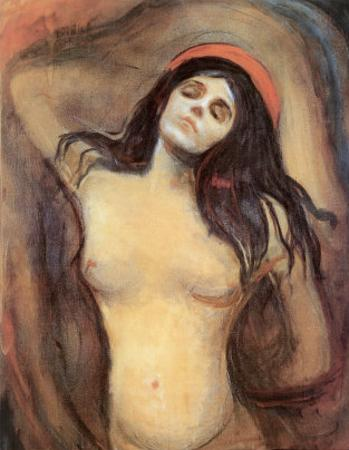 Madonna, c.1895 by Edvard Munch