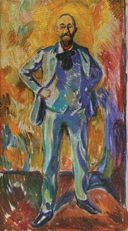 Professor Daniel Jackson, 1908 by Edvard Munch