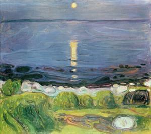 Summer Night At The Shore by Edvard Munch