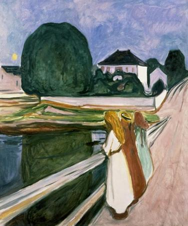 The Girls on the Pier, 1901 by Edvard Munch