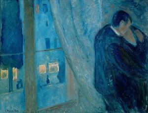 The Kiss, 1892 by Edvard Munch