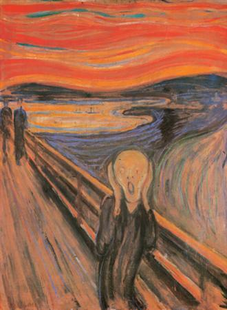 The Scream, 1893 by Edvard Munch