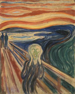 The Scream, 1910 by Edvard Munch