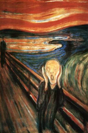 Edvard Munch (The Scream) Art Poster Print