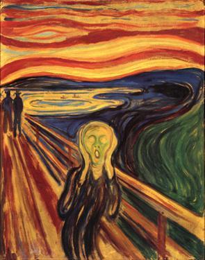 Edvard Munch The Scream Art Print Poster