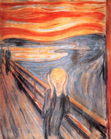 The Scream, c.1893 by Edvard Munch