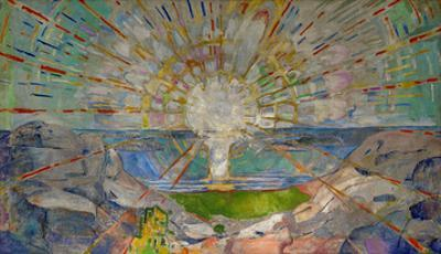 The Sun by Edvard Munch