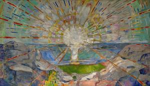 The Sun by Edvard Munch