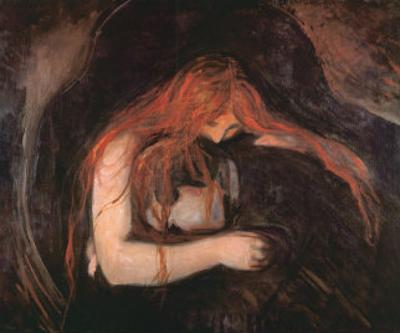 The Vampire by Edvard Munch