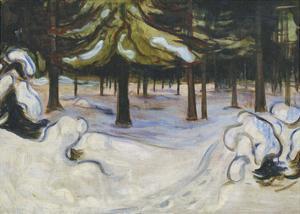 Winter, 1899 by Edvard Munch