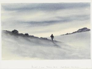 Sunset, 7Pm, March 30.11, Hut Point, Ski Slope, 1911 by Edward Adrian Wilson
