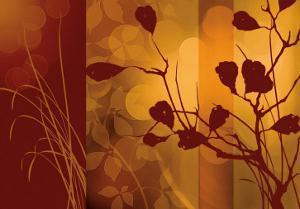 Scarlet Silhouette by Edward Aparicio