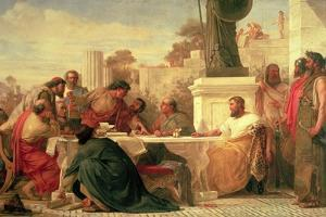 Julian the Apostate (Ad 331-363) Presiding at a Conference of Sectarians, 1875 by Edward Armitage