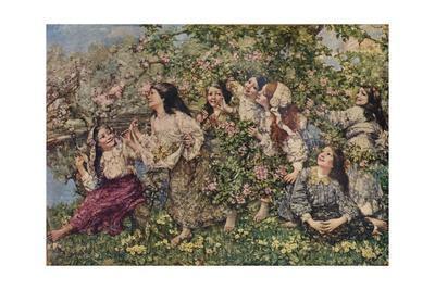 'A Spring Roundelay', 1910 (1935)