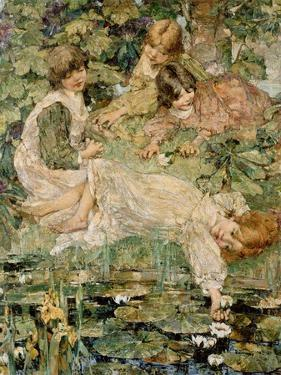 The Pool, 1904 by Edward Atkinson Hornel