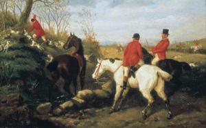 Hunt Scenes by Edward Benjamin Herberte