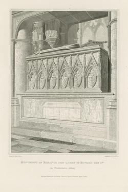 Monument of Eleanor the Queen of Edward the 1st by Edward Blore