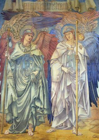 Angeli Ministrantes (Design for a Window in Salisbury Cathedral) by Edward Burne-Jones
