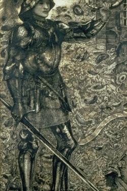 'Childe Roland to the Dark Tower Came', 1861 by Edward Burne-Jones