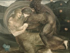 Cupid and Psyche by Edward Burne-Jones