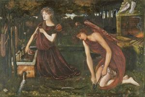 Cupid's Forge by Edward Burne-Jones