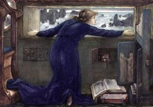 Dorigen of Bretaigne Longing for the Safe Return of Her Husband, 1871 by Edward Burne-Jones