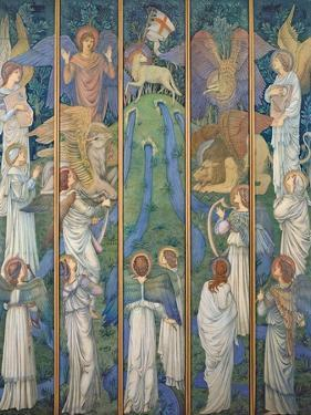 Paradise by Edward Burne-Jones